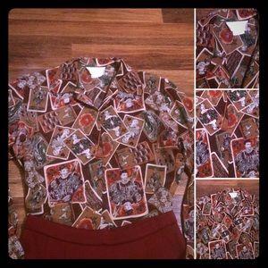 🦋2/$10 3/$15 4/$18 5/$20 Vintage Pendleton Blouse